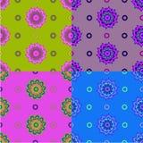 Multicolored patroon Royalty-vrije Stock Foto