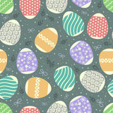 Multicolored pattern Easter royalty free stock photos