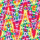 Multicolored Pattern. Stock Images