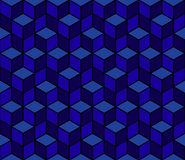 Multicolored pattern of hexagons. Stock Photo