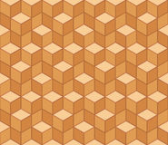 Multicolored pattern of hexagons. eps 10 vector illustration Stock Photo