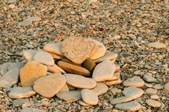 Multicolored pebbles. Stock Photography