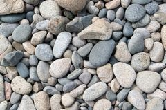 Multicolored pebbles Stock Photos