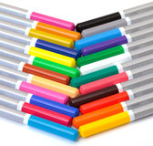 Multicolored Pencil Stock Images