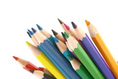 Multicolored pencil Stock Photo