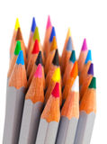 Multicolored Pencil, Arrangement in Bunch Royalty Free Stock Image