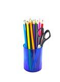 Multicolored pencils Royalty Free Stock Photo