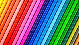 Multicolored Pencils background. School background royalty free stock images