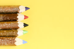 Multicolored pencils for drawing Royalty Free Stock Photo
