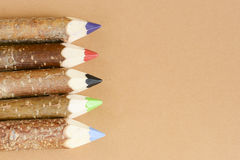 Multicolored pencils for drawing Royalty Free Stock Photos