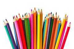 Multicolored pencils Stock Image