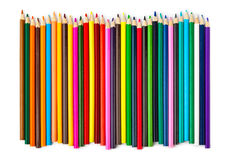 Multicolored pencils Royalty Free Stock Photos