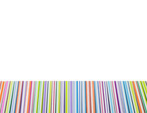 Multicolored pens . Royalty Free Stock Images