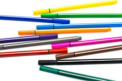 Multicolored Pens Royalty Free Stock Photo