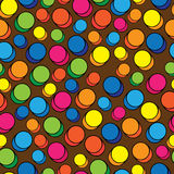 Multicolored pills of seamless pattern Royalty Free Stock Image