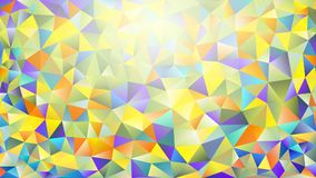 Multicolored pink and blue polygonal kaleidoscope abstract background, cover, consisting of a structure of triangles. Texture, Bac. Kground in mosaic style and Royalty Free Stock Images