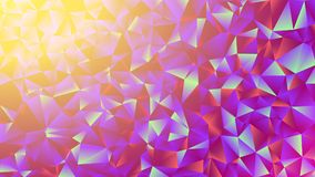 Multicolored pink and blue polygonal kaleidoscope abstract background, cover, consisting of a structure of triangles. Texture, Bac Royalty Free Stock Photos