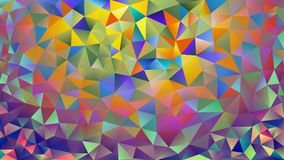 Multicolored pink and blue polygonal kaleidoscope abstract background, cover, consisting of a structure of triangles. Texture, Bac. Kground in mosaic style and Royalty Free Stock Image