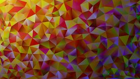 Multicolored pink and blue polygonal kaleidoscope abstract background, cover, consisting of a structure of triangles. Texture, Bac. Kground in mosaic style and Royalty Free Stock Photo