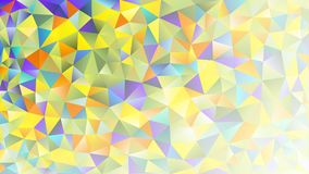Multicolored pink and blue polygonal kaleidoscope abstract background, cover, consisting of a structure of triangles. Texture, Bac Royalty Free Stock Photography