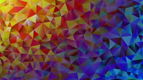 Multicolored pink and blue polygonal kaleidoscope abstract background, cover, consisting of a structure of triangles. Texture, Bac Royalty Free Stock Images