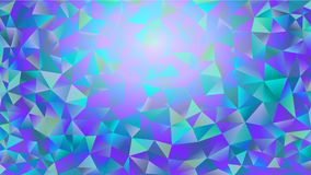 Multicolored pink and blue polygonal kaleidoscope abstract background, cover, consisting of a structure of triangles. Texture, Bac. Kground in mosaic style and Royalty Free Stock Photos