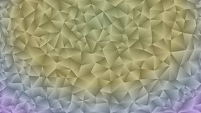 Multicolored pink and blue polygonal kaleidoscope abstract background, cover, consisting of a structure of triangles. Texture, Bac Royalty Free Stock Image