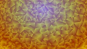 Multicolored pink and blue polygonal kaleidoscope abstract background, cover, consisting of a structure of triangles. Texture, Bac Royalty Free Stock Photo