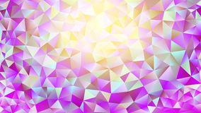 Multicolored pink and blue polygonal kaleidoscope abstract background, cover, consisting of a structure of triangles. Texture, Bac. Kground in mosaic style and Royalty Free Stock Photography