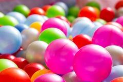 Multicolored plastic ballen Royalty-vrije Stock Fotografie