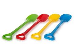 Multicolored plastic speelgoed Royalty-vrije Stock Foto