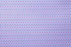 Multicolored Polka Dots on White Background Royalty Free Stock Photo