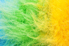Multicolored polyester Stock Image