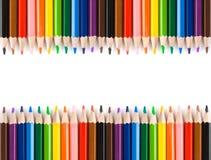 Multicolored potloden Stock Fotografie