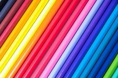 Multicolored potloden Royalty-vrije Stock Foto's