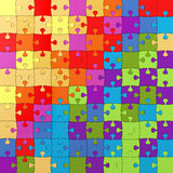 Multicolored Puzzle Illustration, Jigsaw 3d Stock Images