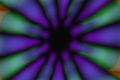 Multicolored radiaal cirkel donker patroon stock fotografie