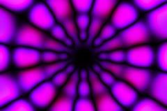 Multicolored radiaal cirkel licht patroon stock afbeeldingen