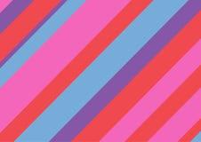 Multicolored rechthoekige achtergrond met diagonale lijnen Vector illustratie royalty-vrije illustratie