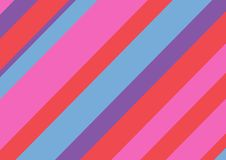 Multicolored rectangular background with diagonal lines. Vector illustration. royalty free illustration