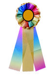 Multicolored ribbon for awards or prize Royalty Free Stock Images