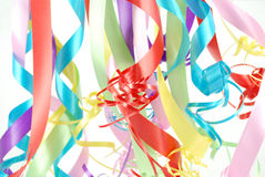 Multicolored ribbons Royalty Free Stock Photos