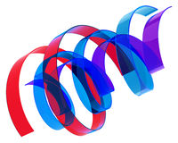 Multicolored ribbons Royalty Free Stock Photography