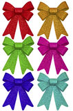 Multicolored ribbons Royalty Free Stock Image