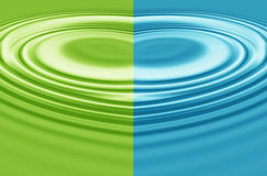 Multicolored rippled abstract background. Stock Images