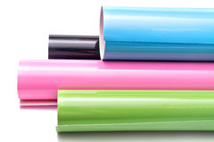 Multicolored rolls Royalty Free Stock Photo
