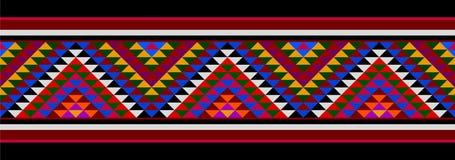 Free Multicolored Sadu Hand Weaving Arabian Patterns Royalty Free Stock Images - 158012679