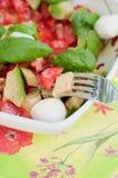 Multicolored salad Stock Photo