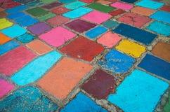 Multicolored Samenvatting Royalty-vrije Stock Afbeeldingen