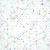 Multicolored scattered shapes background Royalty Free Stock Photo
